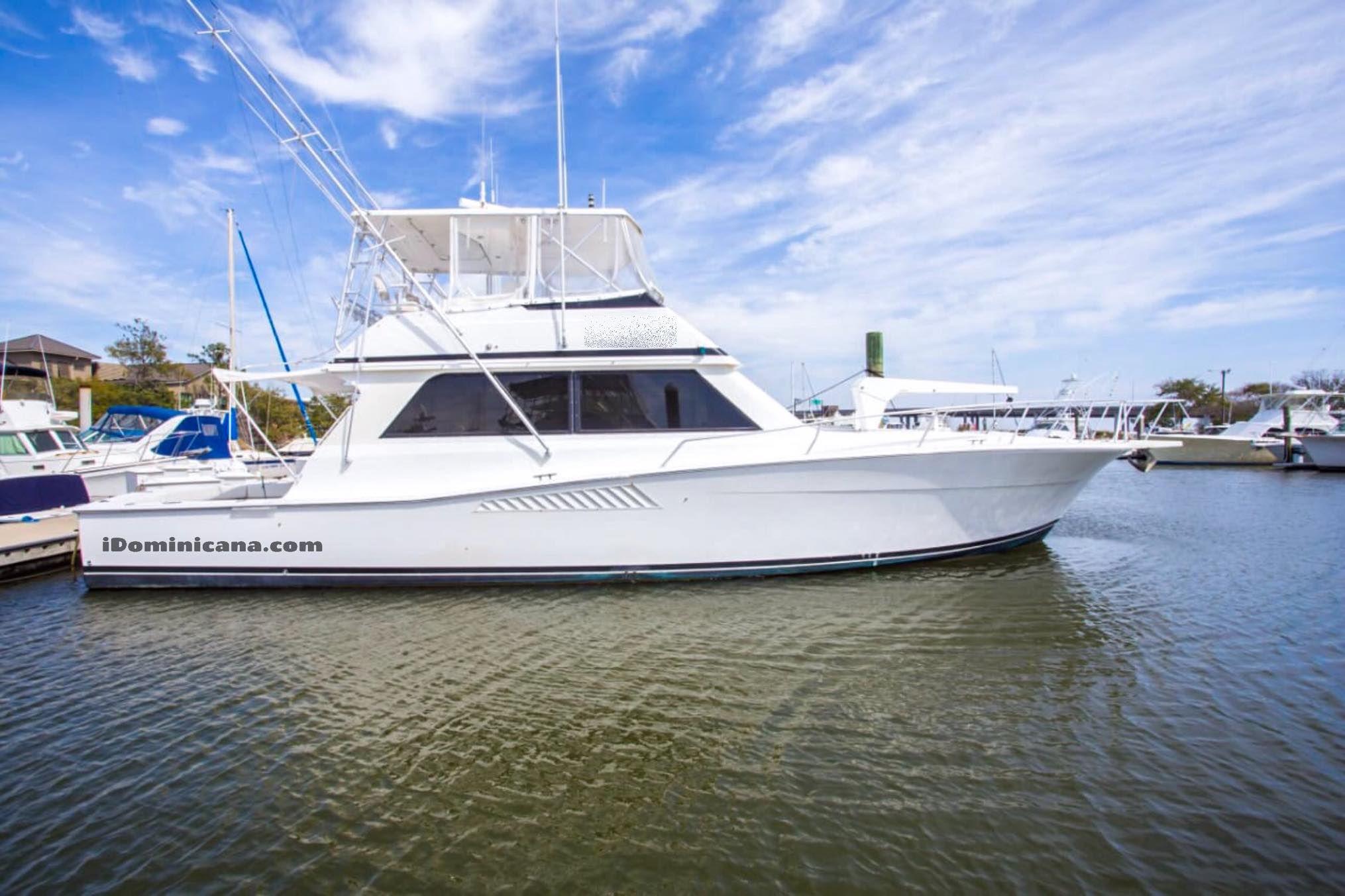 Индивидуальная рыбалка в Пунта Кана - яхта Viking 53 ft iDominicana.com