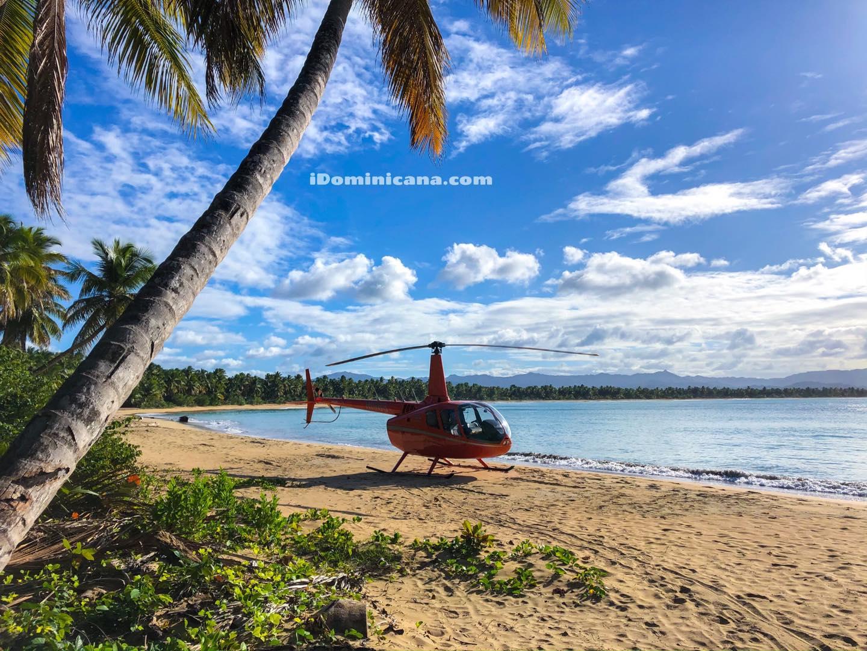 Водопад Ля Хальда: экскурсия на вертолете в Доминикане - новое видео