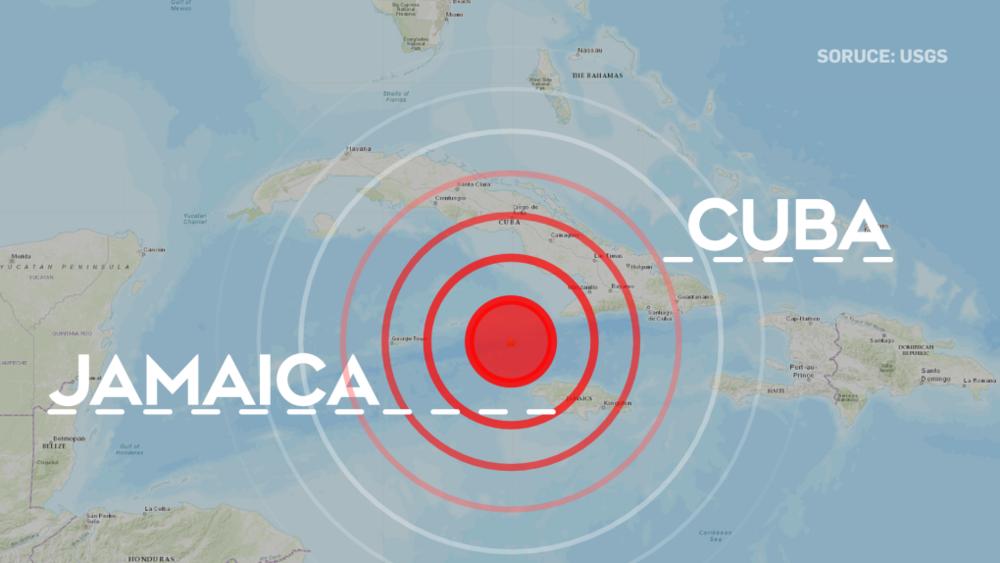 Предупреждение о цунами в Карибском море