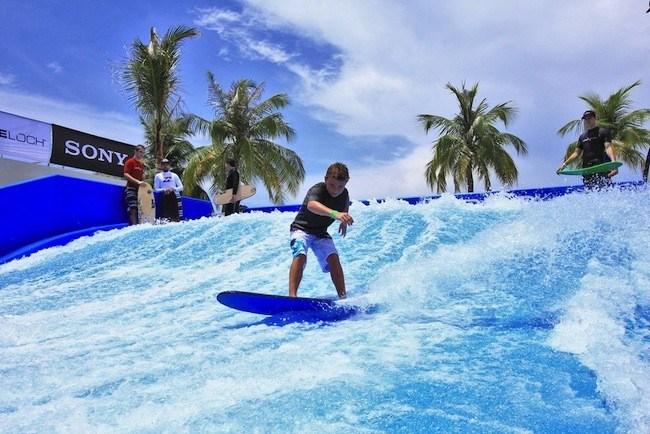 В Hard Rock Hotel Punta Cana установили атnрацион с искусственной волной