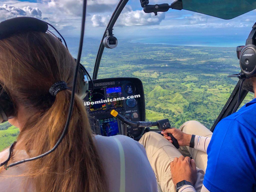 Экскурсия на вертолете: водопад Ля Хальда и пляж Эсмеральда - новые фотоiDominicana.com