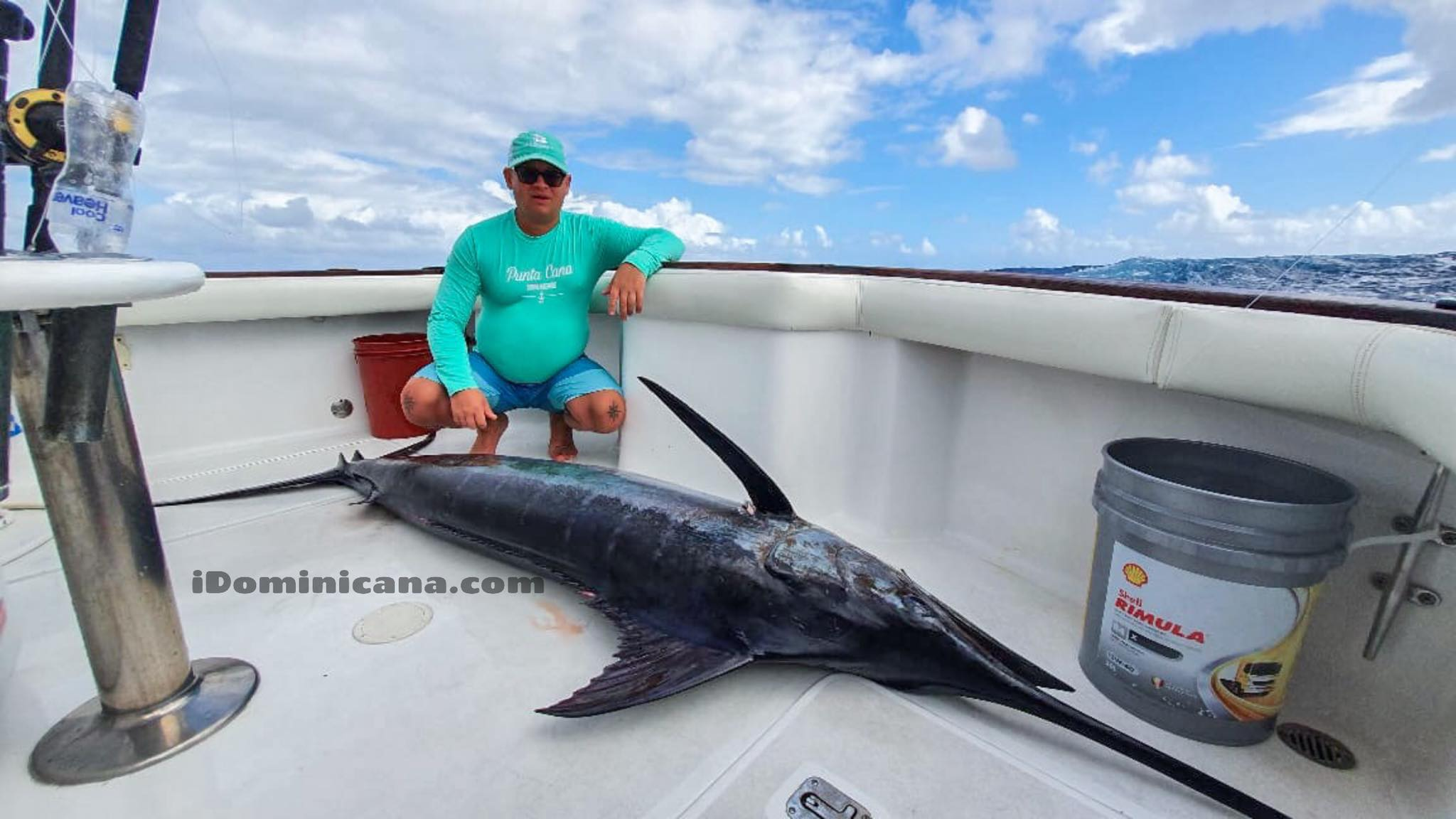 Стартовал сезон рыбалки на марлина в Доминикане