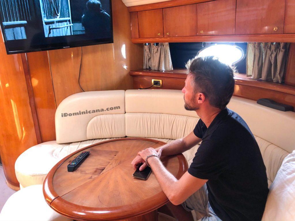 Доминикана аренда яхты Cranchi 50 ft iDominicana.com