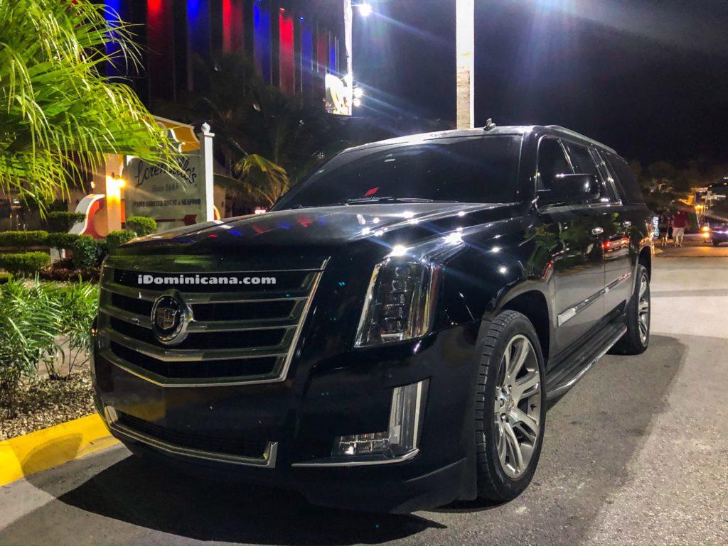 Авто Доминикана: аренда Cadillac Escalade (с водителем) iDominicana.com
