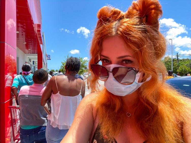 Элина Сергачева рассказала СМИ, как проходит карантин в Доминикане