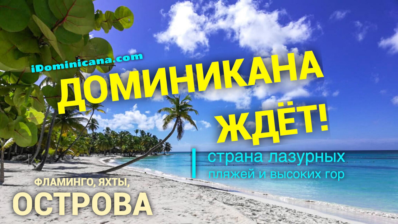 Доминикана: путешествия онлайн - ВИДЕО