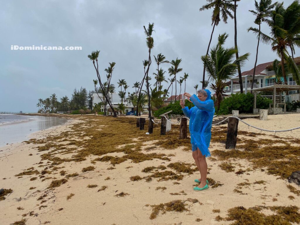 Шторм Исайас в Доминикане: как это было - ВИДЕО
