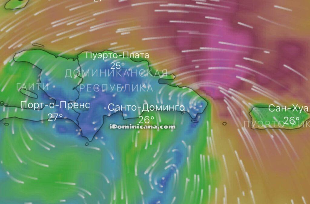 Шторм Исайас в Доминикане: 29-30 июля - iDominicana.com
