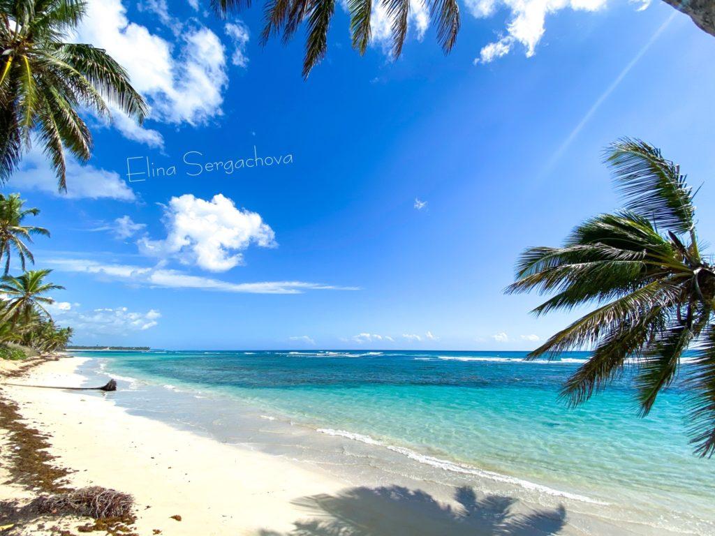 Дикий пляж Увероальто в Доминикане iDominicana.com