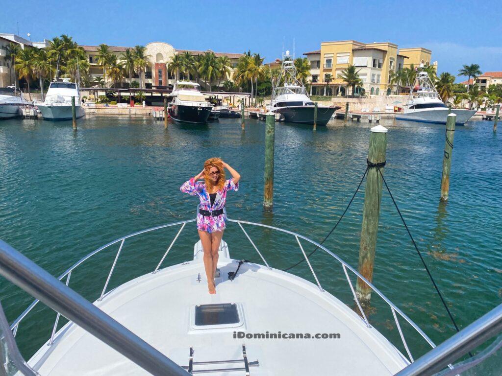 Морская прогулка в Пунта-Кана на частной яхте 39 ft (полдня) iDominicana.com