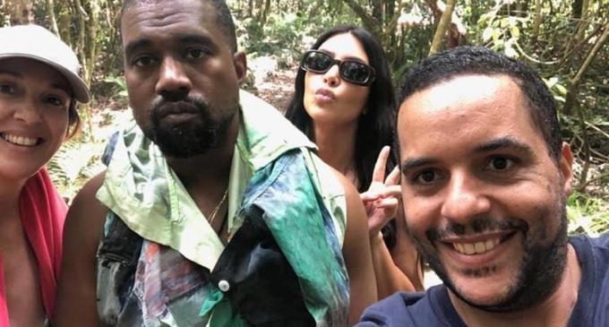 Ким Кардашьян и Канье Уэст отдохнули в Доминикане