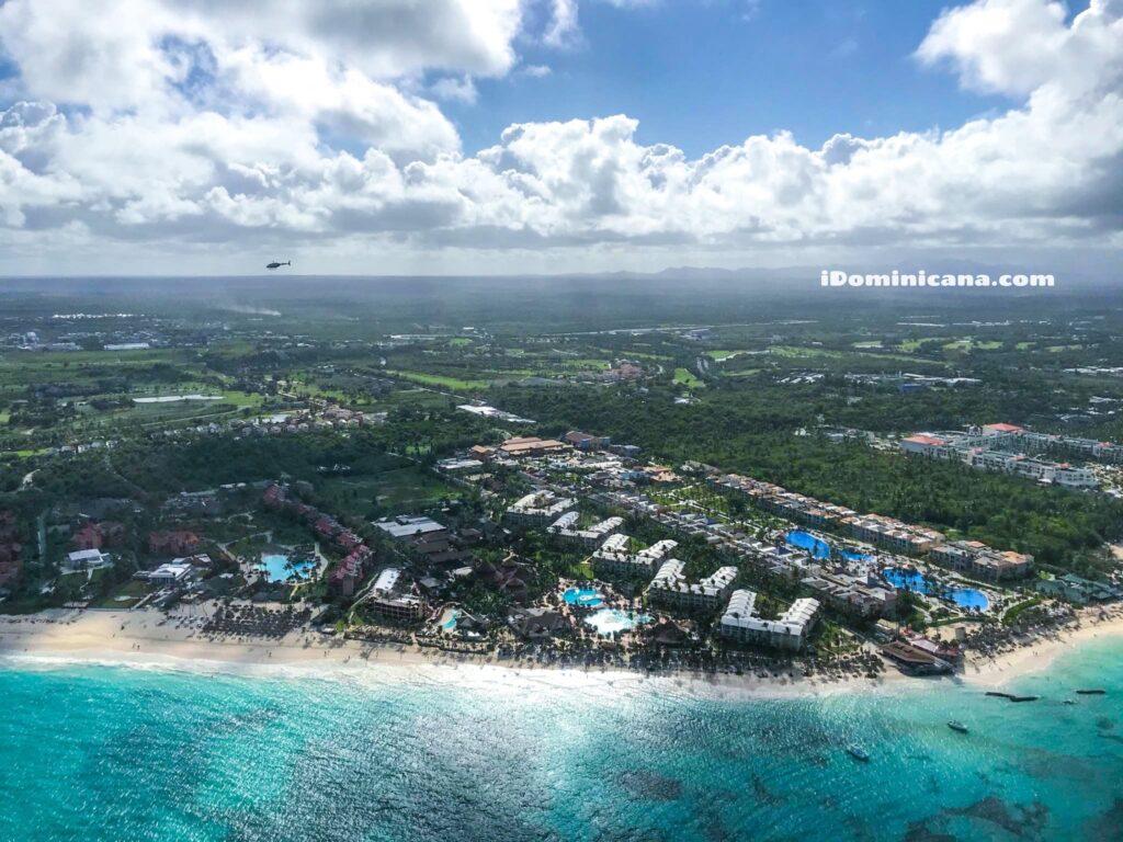 Полет на вертолете в Доминикане 2020: новые фото наших туристов
