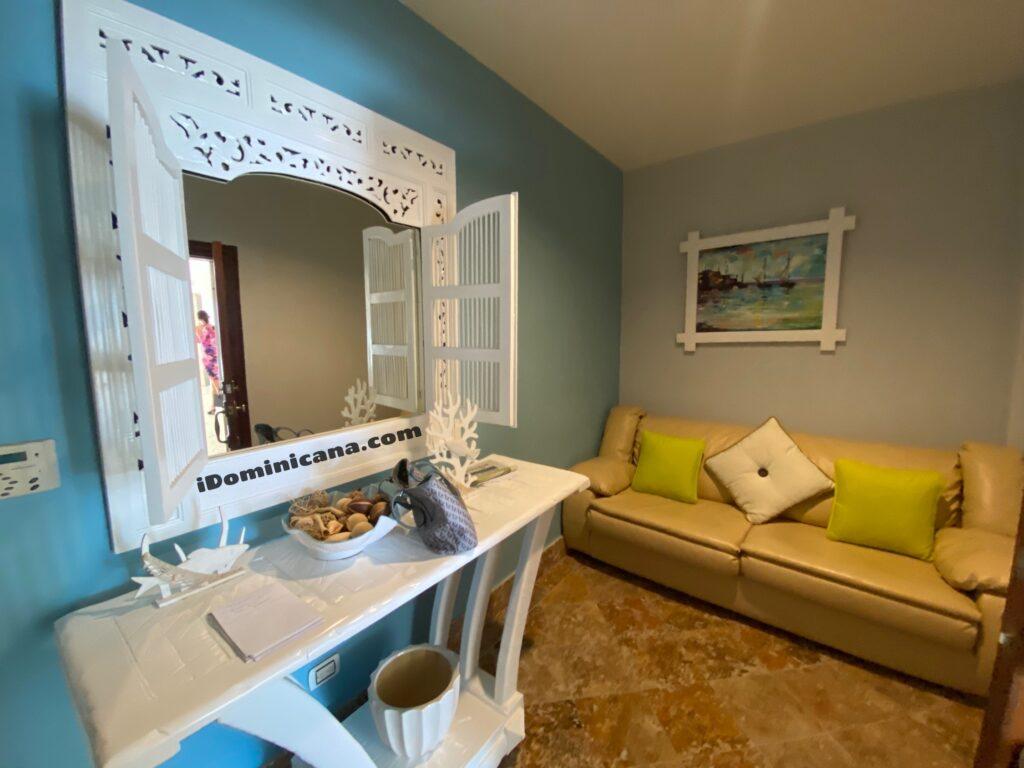 Доминикана апартаменты: Cap Cana, 1-я линия, 2 спальни, вид на океан