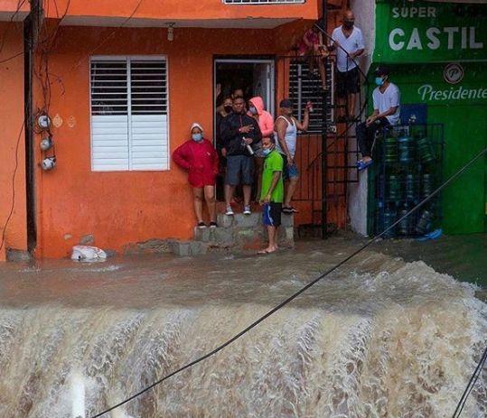 Шторм Лаура в Доминикане: как это было. Видео