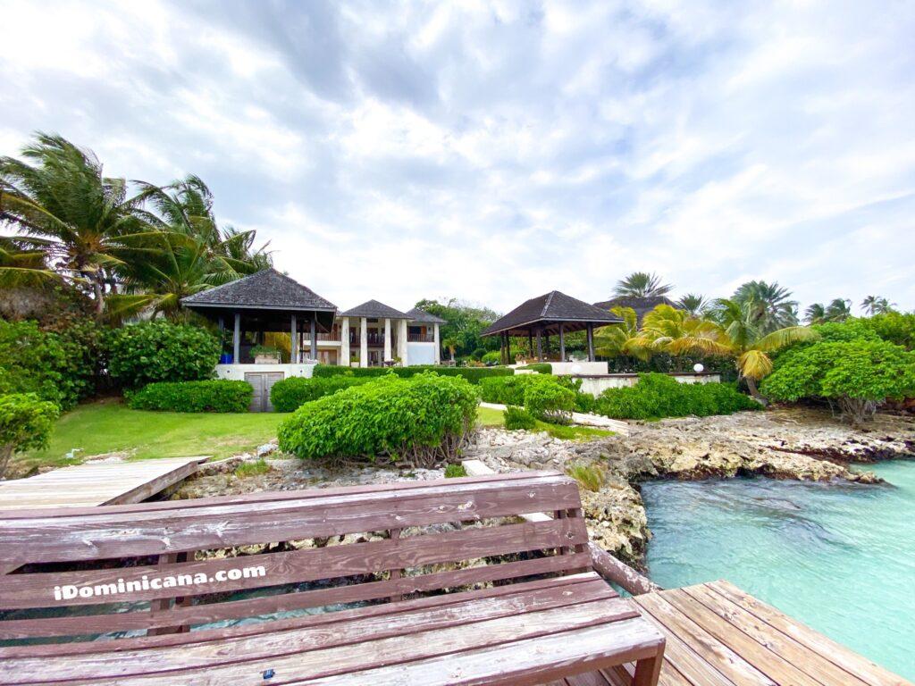 Аренда виллы в Доминикане на берегу: Пунта-Кана, 5 спален, личный пляж