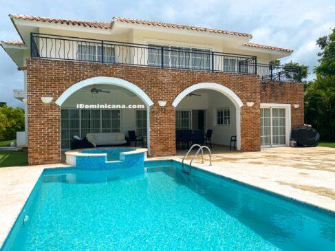 Вилла в Доминикане (аренда): Cocotal golf Club, Баваро (Пунта-Кана), 5 спален