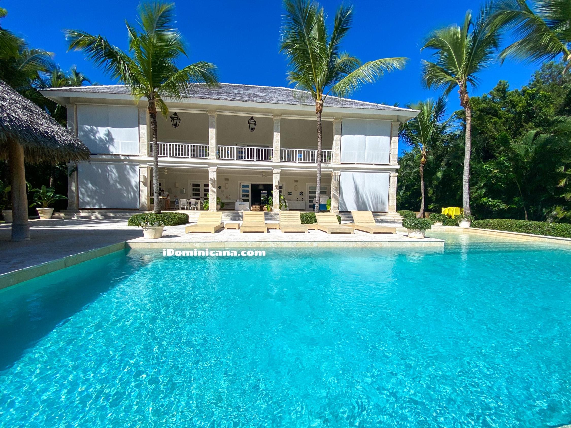 Аренда виллы в Доминикане: 6 спален, рядом с пляжем, Puntacana