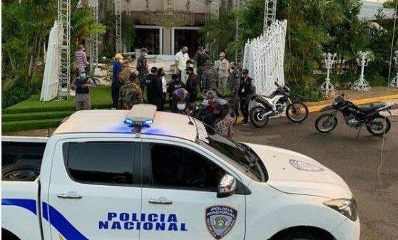 В Доминикане полиция разгоняет роскошные свадьбы