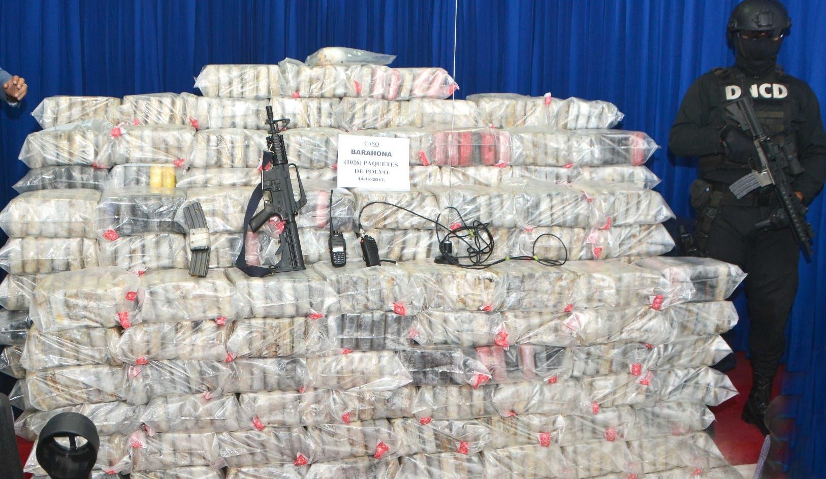 Тонна кокаина была обнаружена в Республике Доминикана