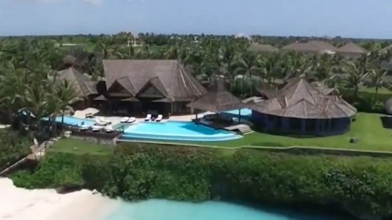 Экс-президент Мексики отдохнул в Доминикане