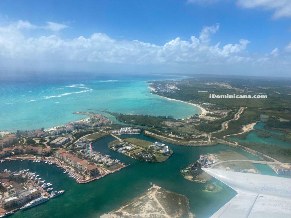 Полет на самолете в Доминикане (35 мин) - $99 с чел