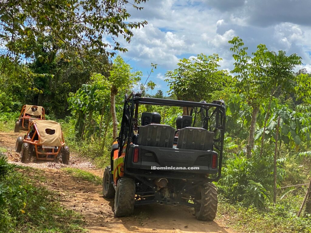 Пещерный тур на багги в Доминикане