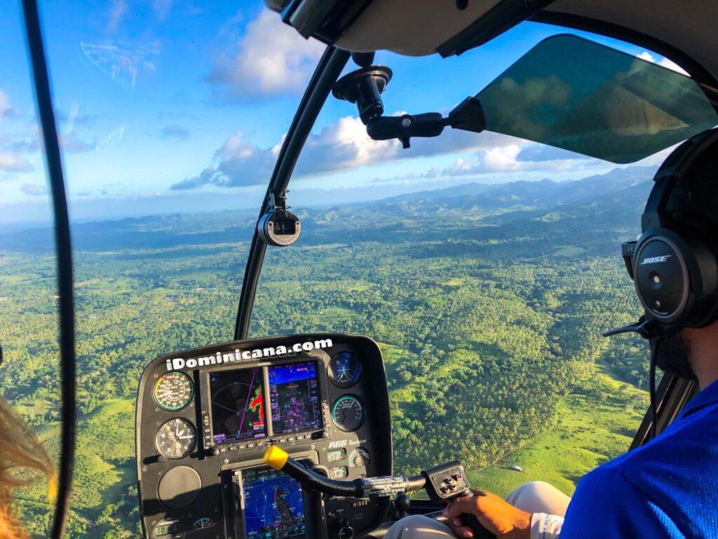Водопад Ля Хальда на вертолете