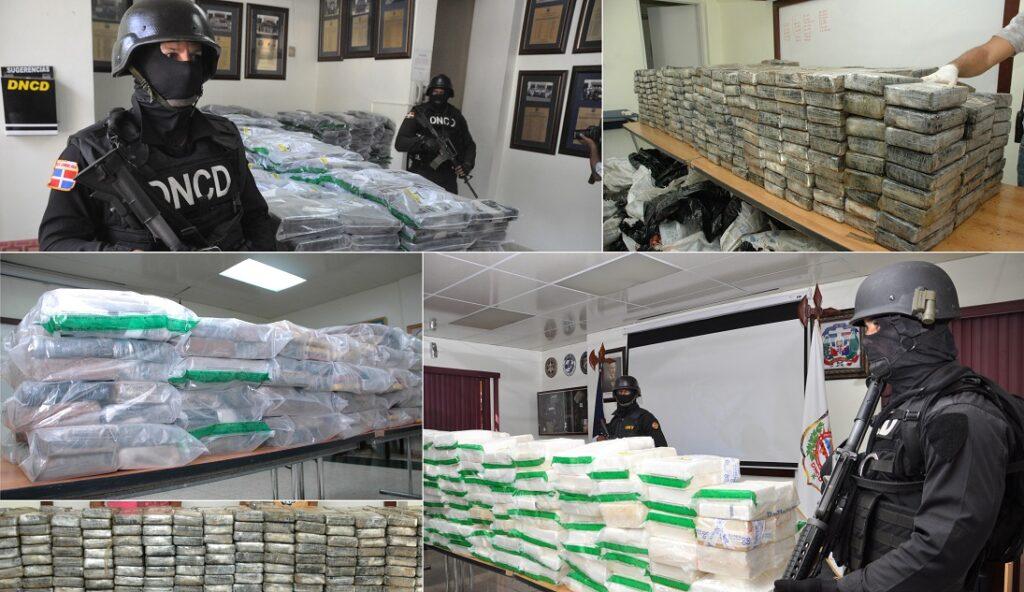 В Доминикане изъяли 14 тонн кокаина