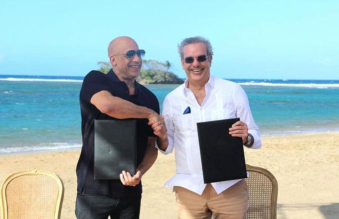 Вин Дизель откроет в Доминикане киностудию