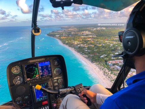Вертолет Доминикана: воздушные прогулки