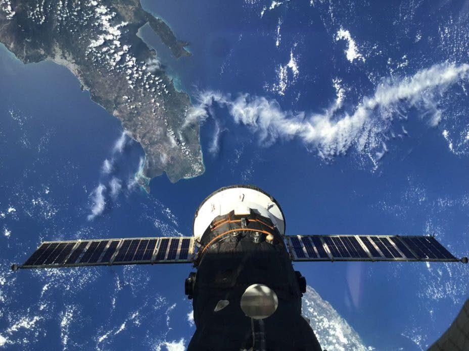 Доминикана из космоса: российский космонавт поделился уникальным фото