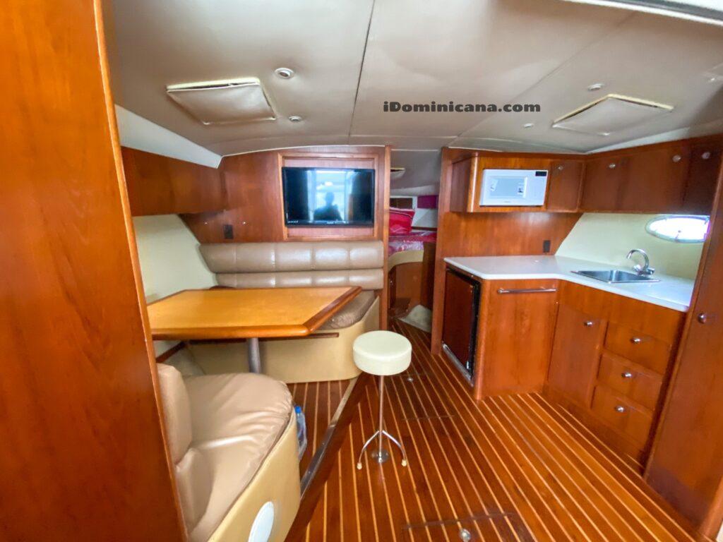 Аренда яхты в Доминикане: яхта Tiara 40 ft – о.Саона/ о.Каталина