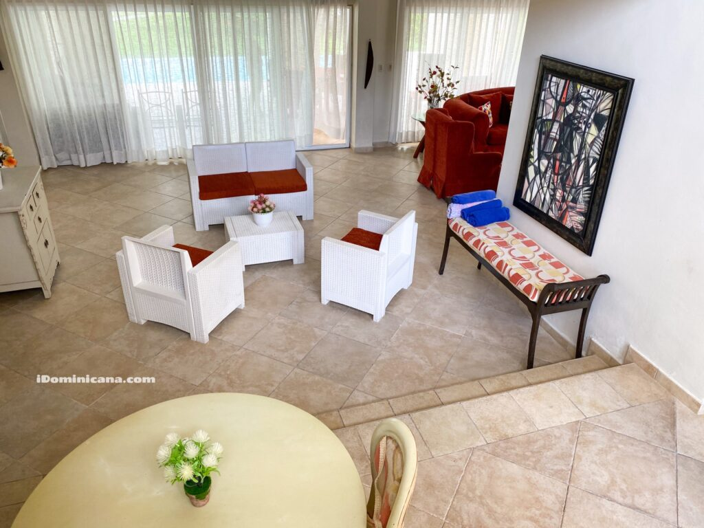 Вилла в Доминикане (аренда): 4 спальни, Кокоталь гольф клаб