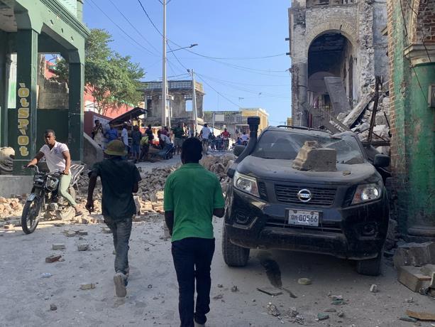 На Гаити рядом с Доминиканой произошло землетрясение магнитудой 7,2