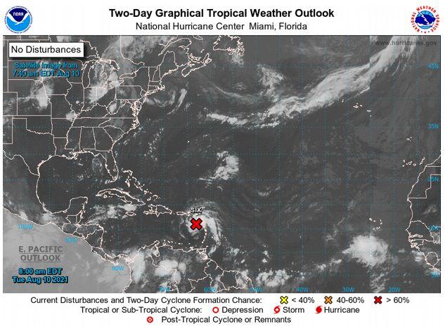 Внимание! К Республике Доминикана приближается циклон